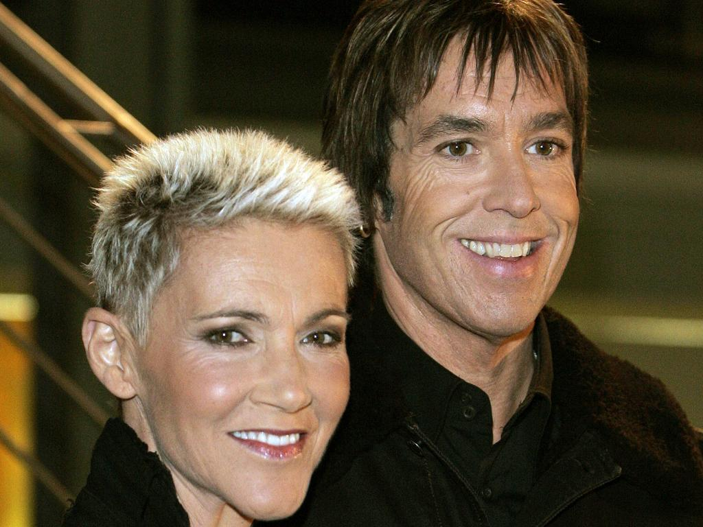 Marie Fredriksson and Per Gessle of Roxette were friends for 40 years. Picture: AFP)/ Germany OUT