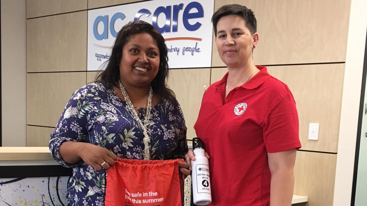 Australian Red Cross Heatwave Safety Packs To Help People Sleeping Rough The Advertiser