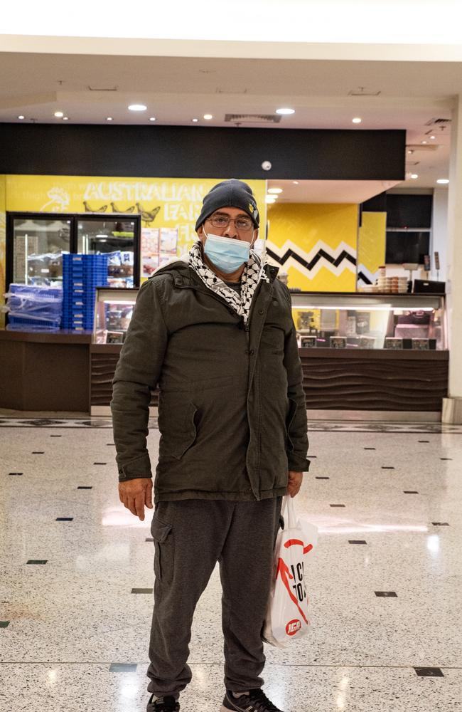 Said Yatin, above at Bankstown Central shopping centre this week, said Australia had gone from 'the best … to finished'. Picture: NCA NewsWire/ Flavio Brancaleone