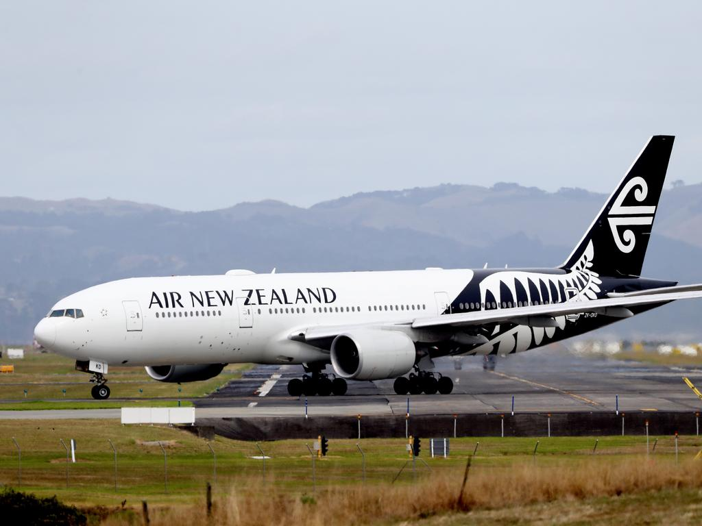 Australia's international border will change with the arrival of an Air New Zealand flight from across the Tasman on Friday. Picture: Hannah Peters/Getty Images