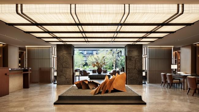 11/15 Hotel the Mitsui Kyoto, Japan From the moment you set eyes on the restored 300-year-old Kajiimiya Gate that marks its entrance, it's clear the Mitsui is not your average hotel. Set next to Kyoto's World Heritage-listed Nijo-jo Castle, the property blends history with modern design. It features a thermal spa fed by on-site natural springs, rooms inspired by traditional Japanese tearooms, and a 1300sqm courtyard garden.