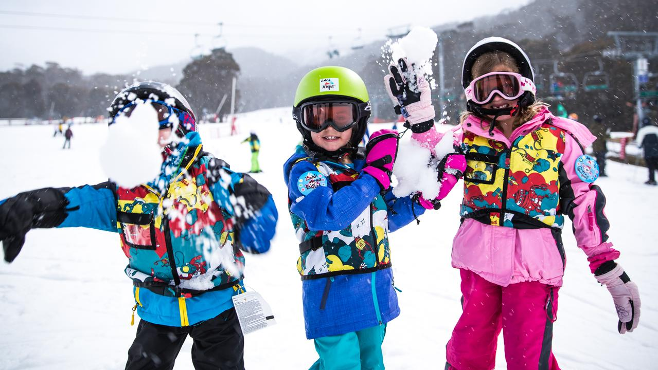 Snow fun at Thredbo. Picture: Supplied
