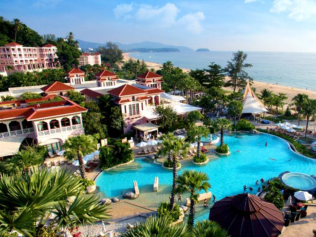 THAILAND 9-DAY PACKAGE, $1590 Spend your next break at five-star Centara Grand Beach Resort Phuket and pay from $1590 a person, twin share, for eight nights, a saving of more than $1500 a person. Includes Deluxe Room accommodation, meals daily, free-flow drinks daily 11am-11pm, and airport transfers. Book by February 21, 2020, valid for travel from May 1 to October 31, 2020. hootholidays.com.au