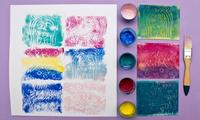 How to make foam print craft for kids