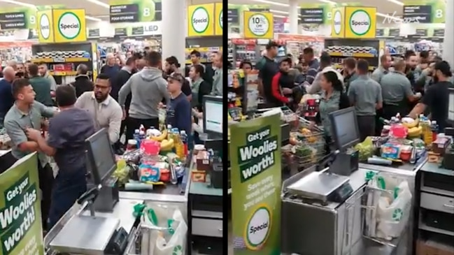Police called after customers brawl at Bass Hill Woolies