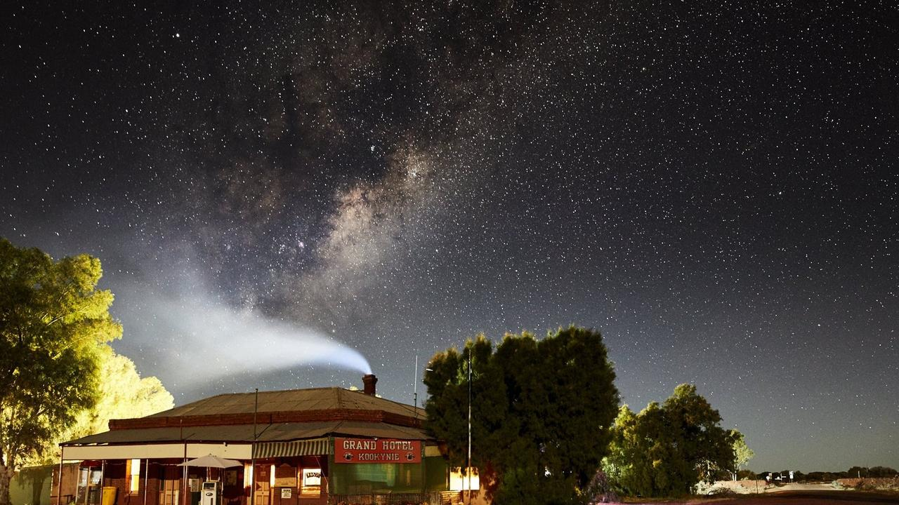 The Grand Hotel in Kooynie. It's hard to imagine a more authentic outback pub stay.