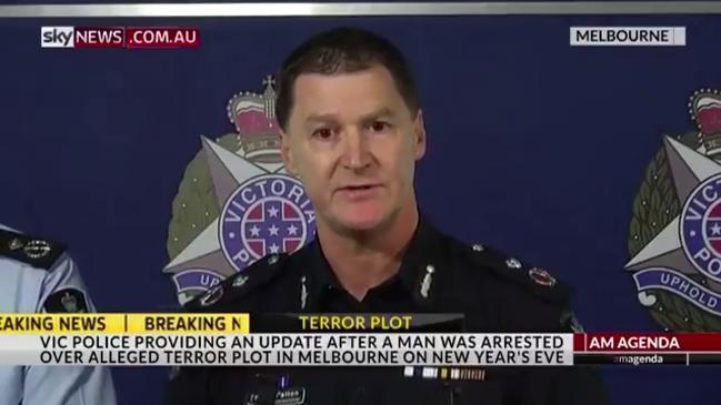 Victoria Police address Federation Square terror plot