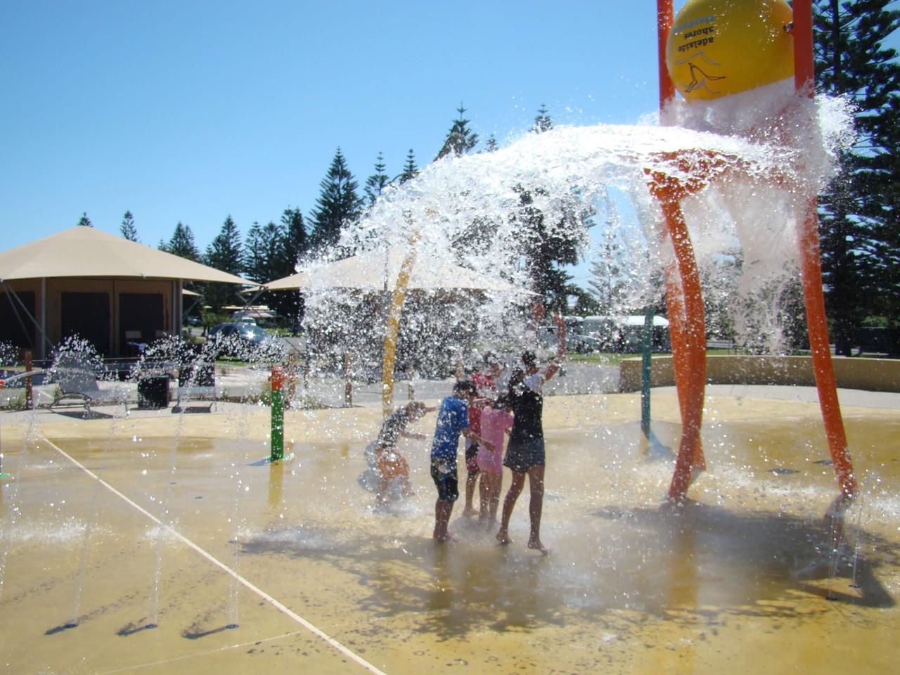 The Big4 West Beach holiday park.