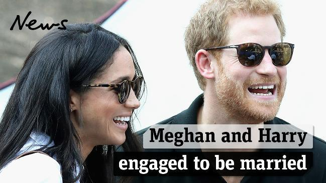 Meghan Markle and Prince Harry engaged to be married