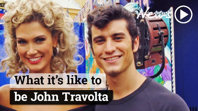 What it's like to be John Travolta