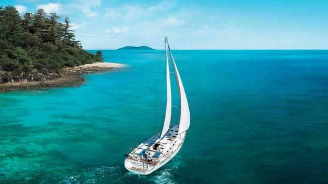 2/10Sail Away Without doubt the ultimate way to explore the Whitsundays is aboard a slick sailing boat. While this sounds an impossible dream it is surprisingly achievable – even for novice families. Hire a sailing boat from Airlie Harbor and you'll be be off exploring the islands, sheltering in empty bays, diving among turtles and rays and catching your dinner from the aft deck. You don't even need a boat license or a navy-trimmed Captain's hat. Go Bareboating provide expert tuition and the option of a sail guide if needed. Best for teenagers.