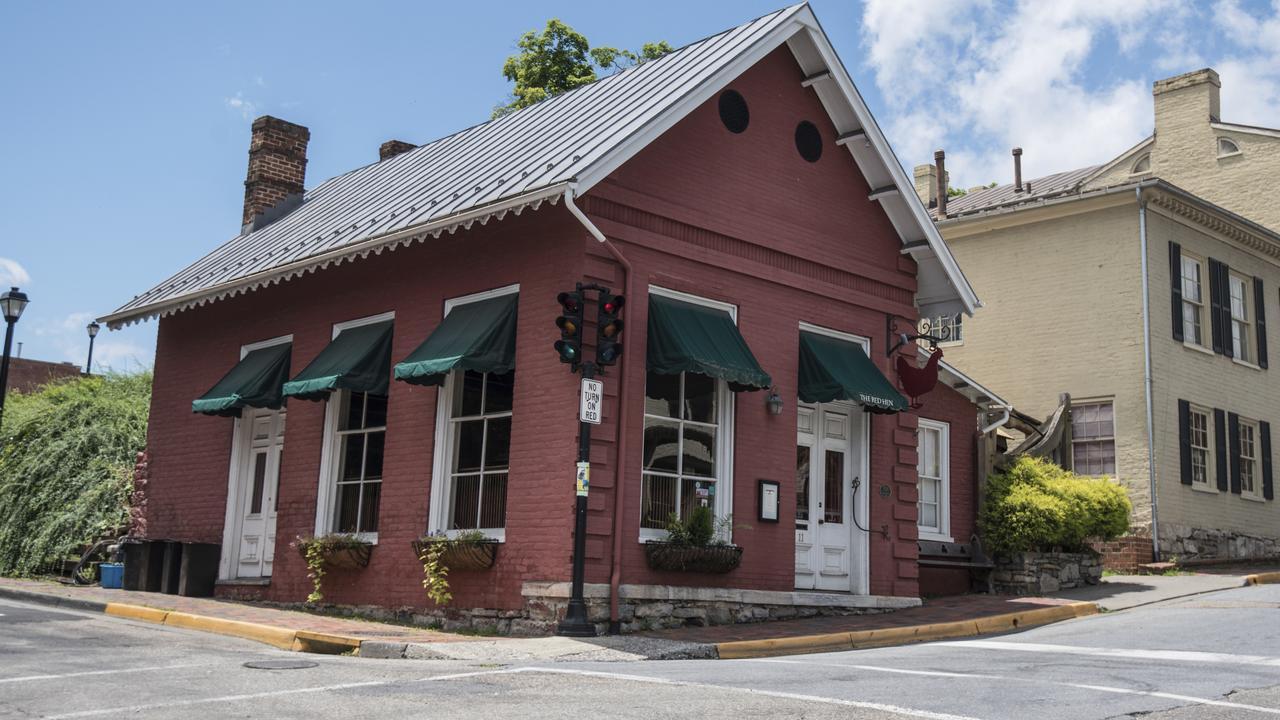 The Red Hen restaurant in Lexington, Virginia. Picture: AP/Daniel Lin