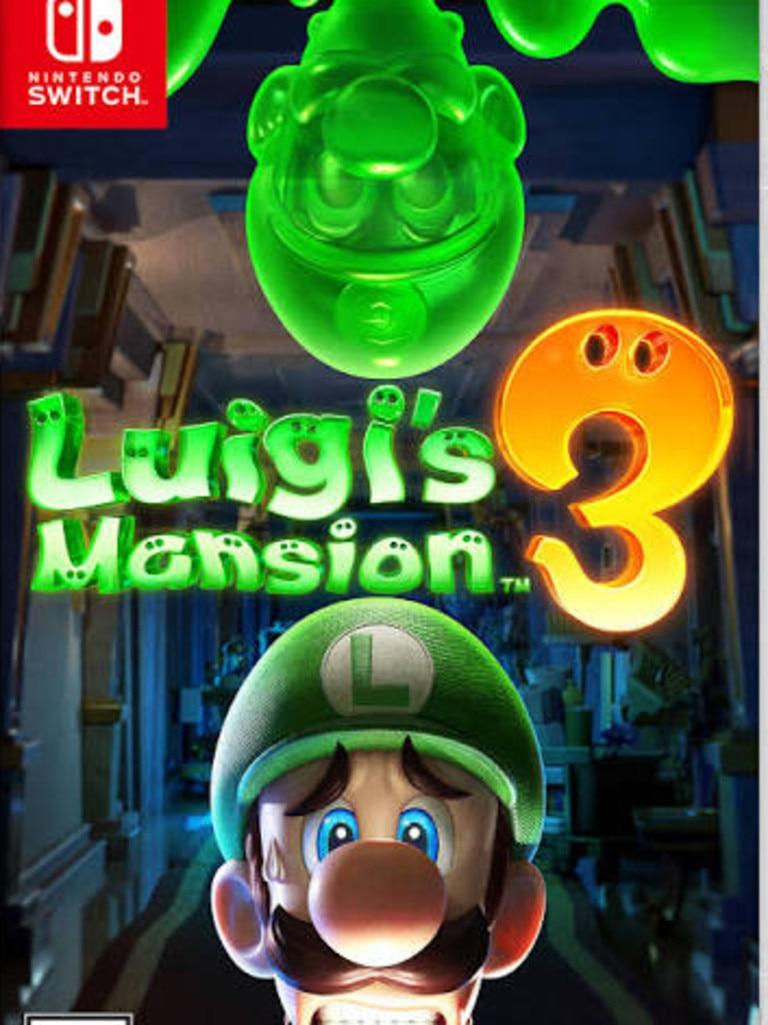 Luigi's Mansion 3 game for Nintendo Switch.