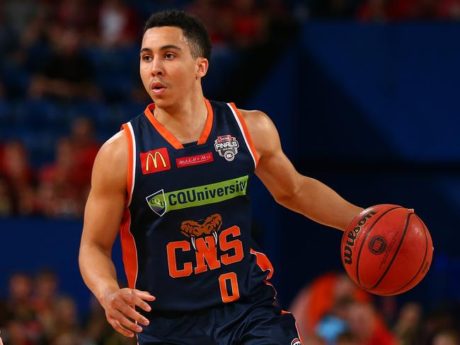 Trice in action for Cairns last year.