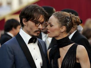 Johnny Depp and partner Vanessa Paradis / AP