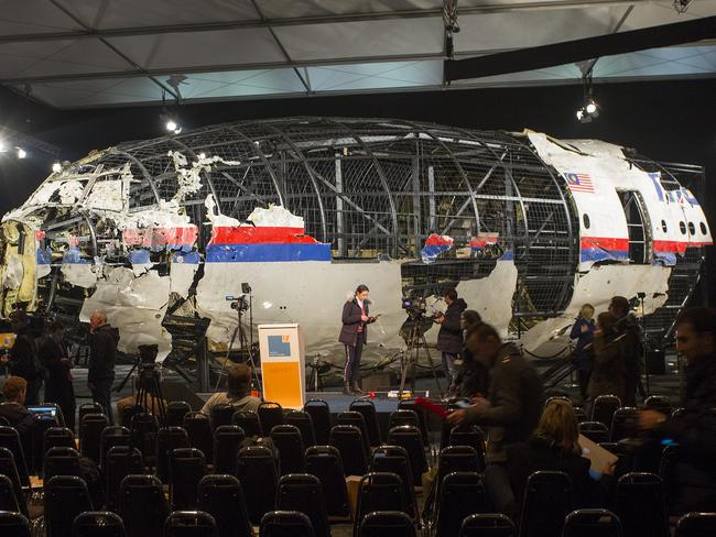 The MH17 crash report from the Dutch Safety Board blamed a Buk missile strike for bringing the plane down. Picture: Ella Pellegrini