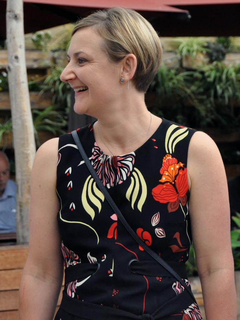 Environment and Climate Action Minister Amber-Jade Sanderson said the infrastructure would help continue the transition to net zero carbon emissions by 2050. Picture: AAP Image/Rebecca Le May