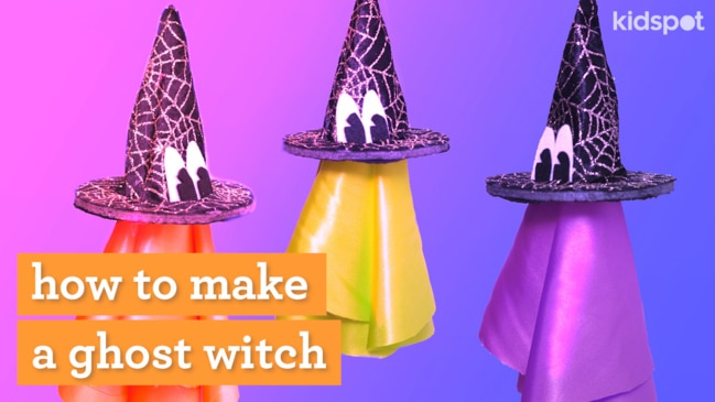 Adorable but spooky everyone can get involved with this fun Halloween craft.