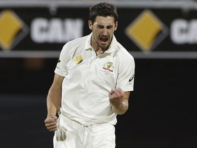 Mitchell Starc is raring to go ahead of his Boxing Day test debut.