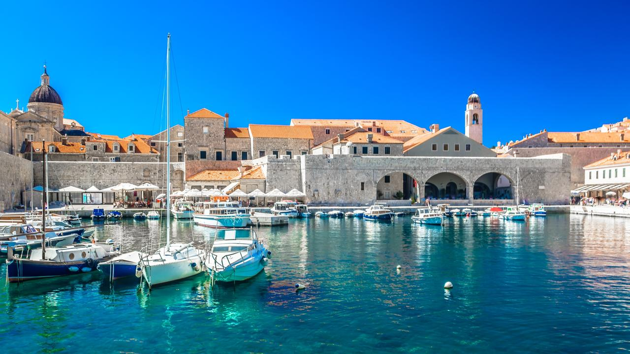 Waterfront view at the sea port in Dubrovnik. Picture: iStock