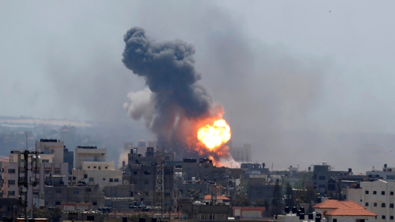 Two Hamas militants killed in airstrikes by Israeli military