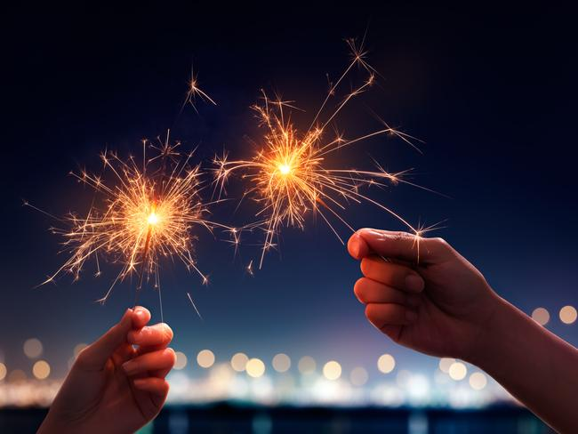 SPARKLERS Leave your sparklers at home too – security won't let you take them any further than the bag screenings.