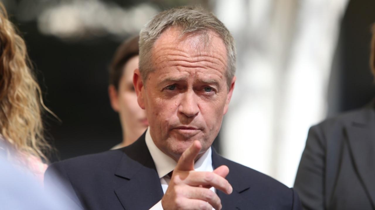 Bill Shorten rectifies superannuation slip-up