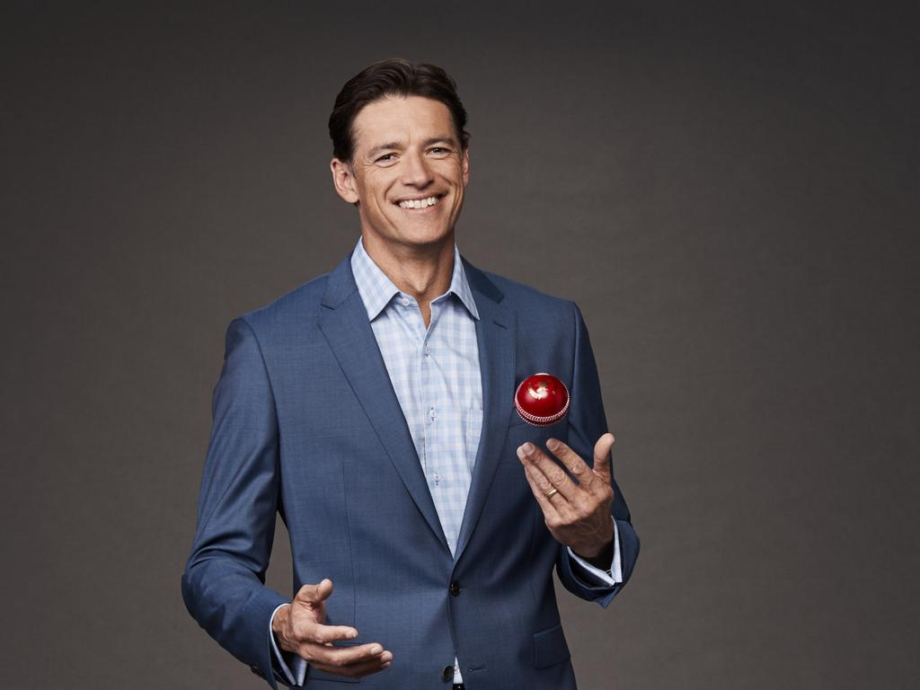 Julian has made a name for himself as part of the Fox Cricket commentary team. Picture: Supplied by Foxtel