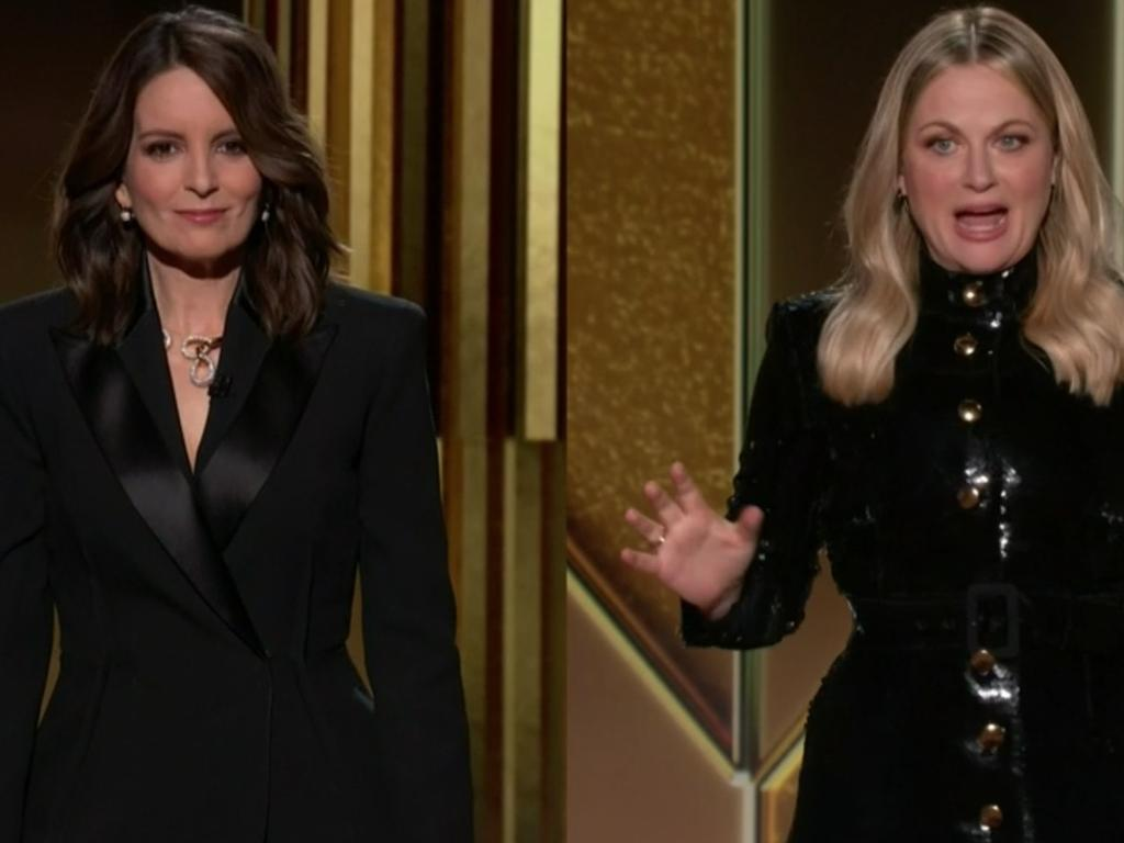PICS: Tina Fey and Amy Poehler hosting the 2021 Golden Globes