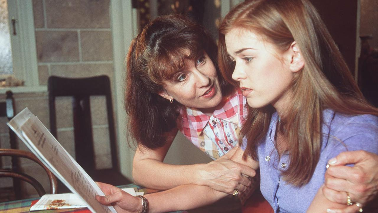 Isla Fisher on Home And Away.