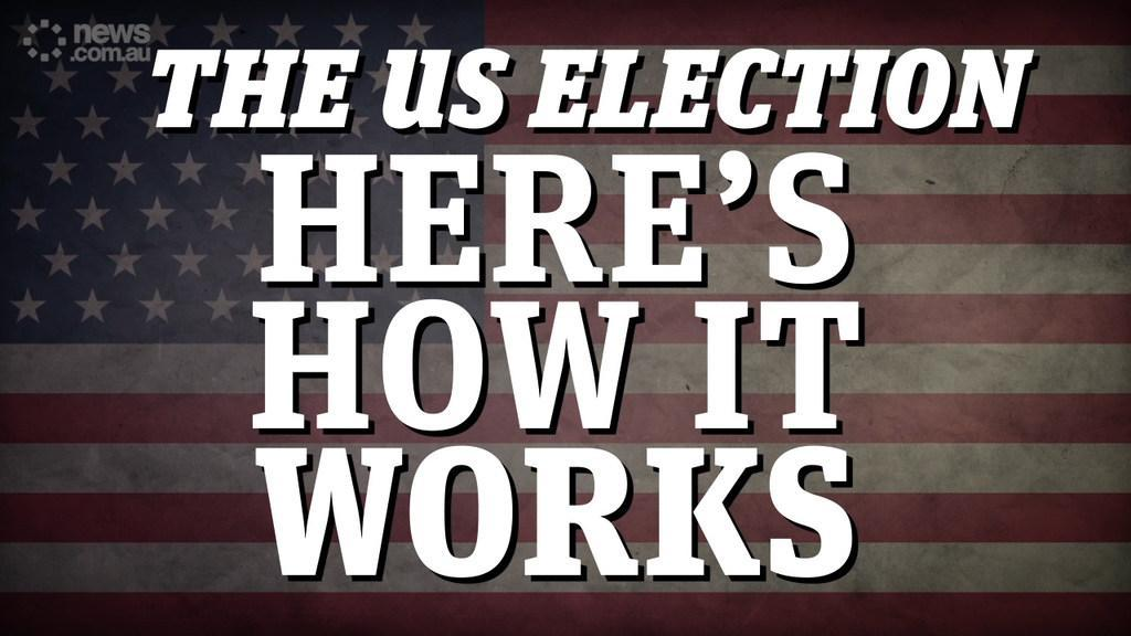 US election explainer: Here's how their voting system works