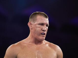 Paul Gallen in the ring. Photo: Getty.