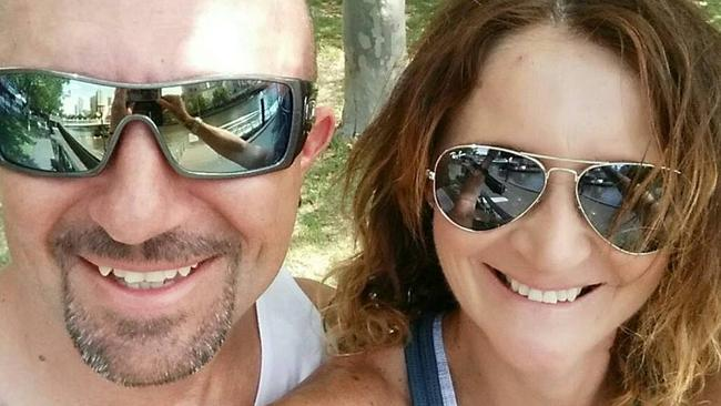 Rachel Tyquin, right, was stabbed to death in April last year.