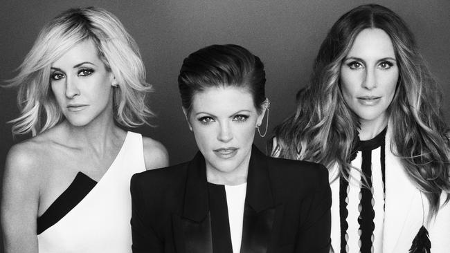 US country-pop trio The Dixie Chicks have revealed plans for a tour Down Under in 2017. Picture: Supplied