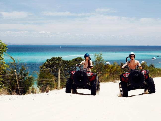 AUSSIE DEAL OF THE WEEK — MORETON ISLAND, $209 Travel to Tangalooma Island Resort and get free boat transfers and discounted accommodation from $209 a night in a Standard Hotel Room – a saving of up to $198 a person. The price also includes encounters such as hand feeding wild bottlenose dolphins, snorkelling through 15 sunken ship wrecks, and more than 50 island-based tours and activities. Offer valid for direct bookings only, for travel until April 2, 2020, and from April 19 to June 25, 2020. tangalooma.com/freeboatpackage