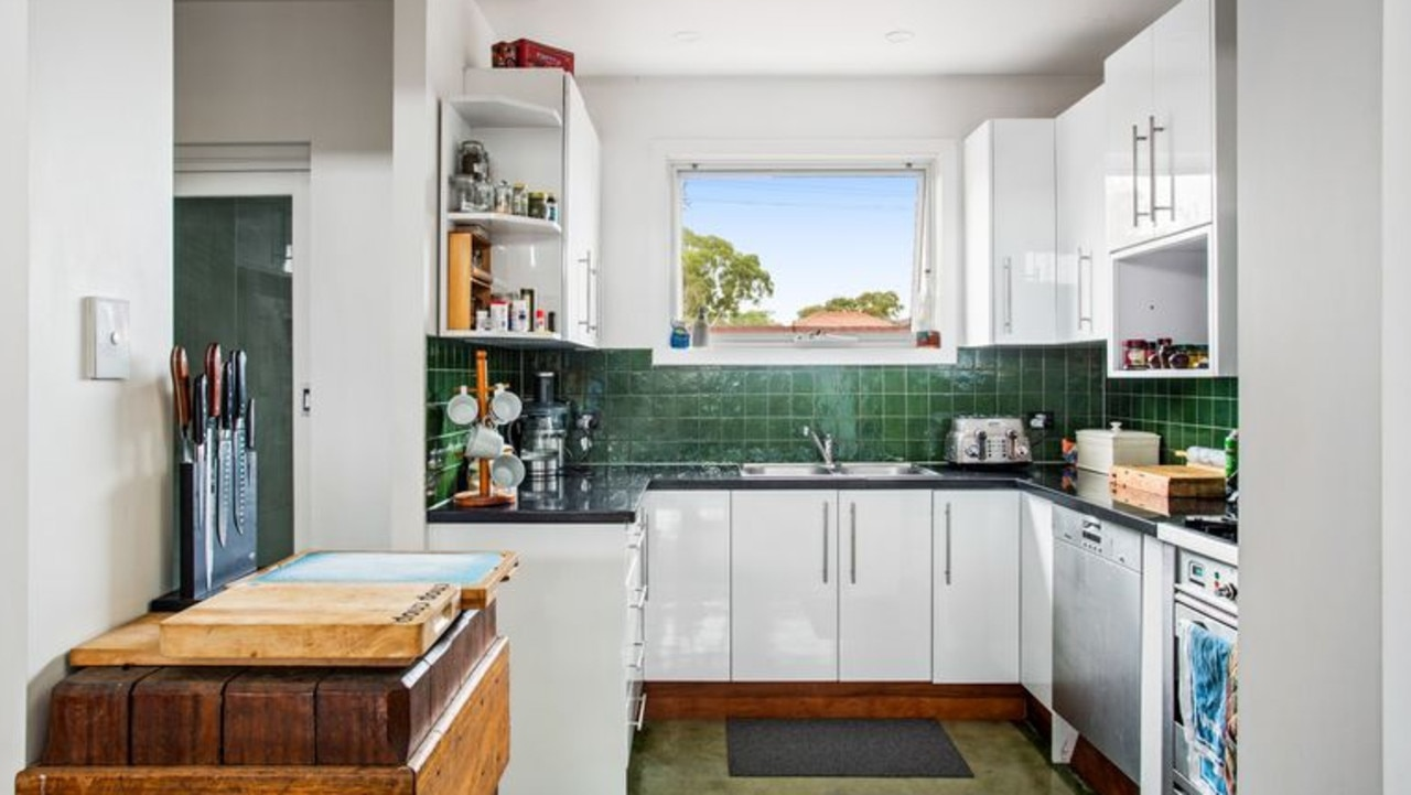 It was listed for sale last year with its neighbouring converted church, which was also owned by Ms Younane and Mr Papakostantis. Pic: realestate.com.au