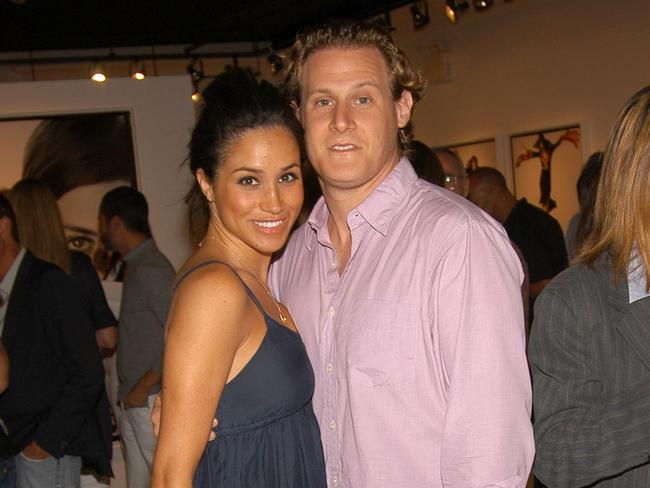 Markle and Engelson in 2006. Photo: Billy Farrell/Patrick McMullan via Getty Images