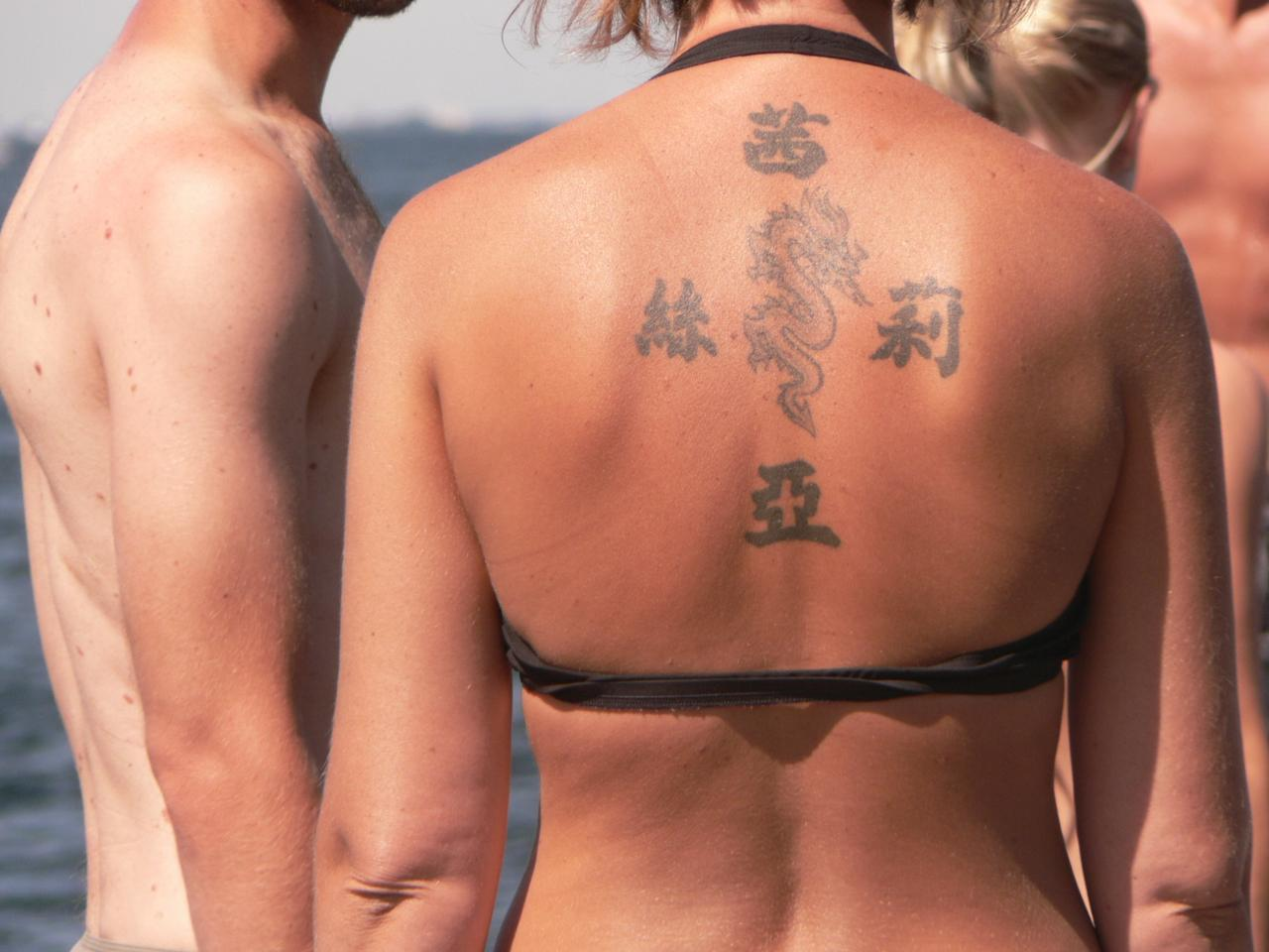 Make sure you know the actual meaning of your tattoo.