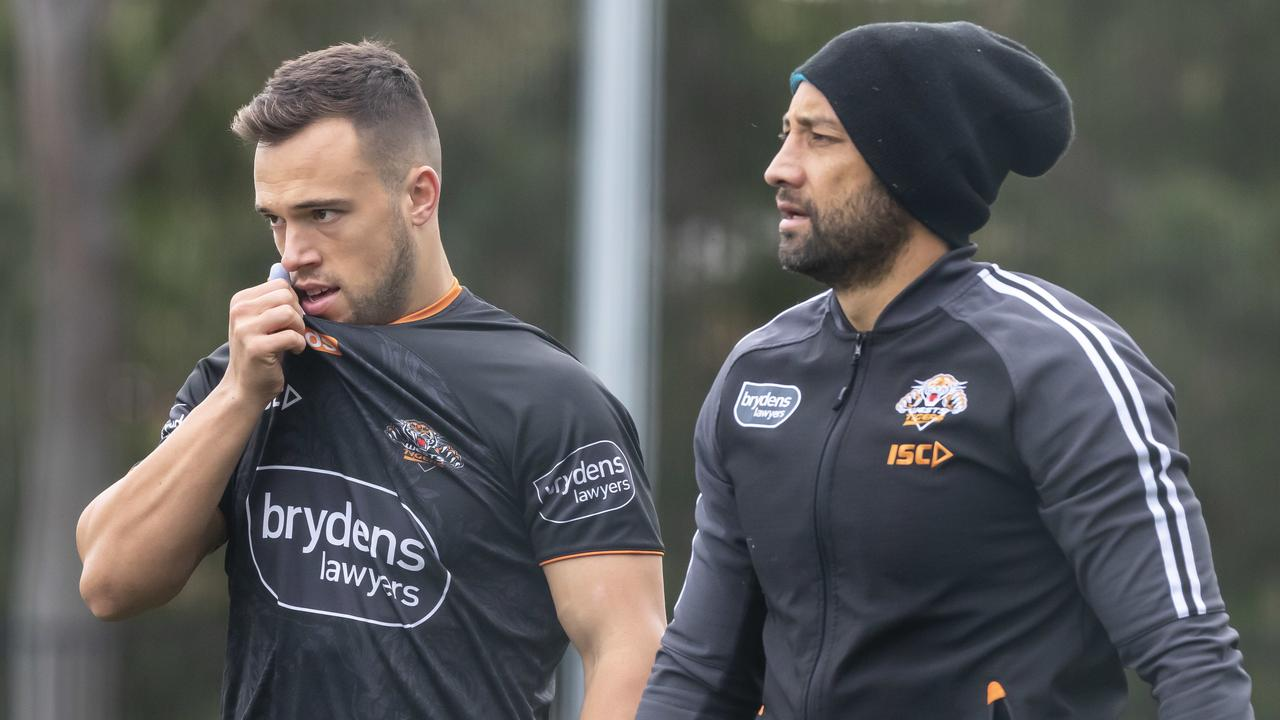 Luke Brooks and Benji Marshall are unlikely to be halves partners in Round 6.