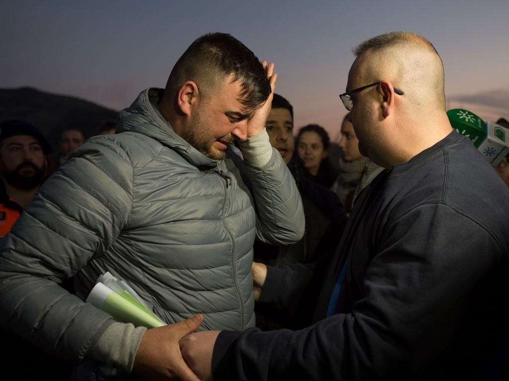 Jose Rosello has already lost one son. Picture: AFP