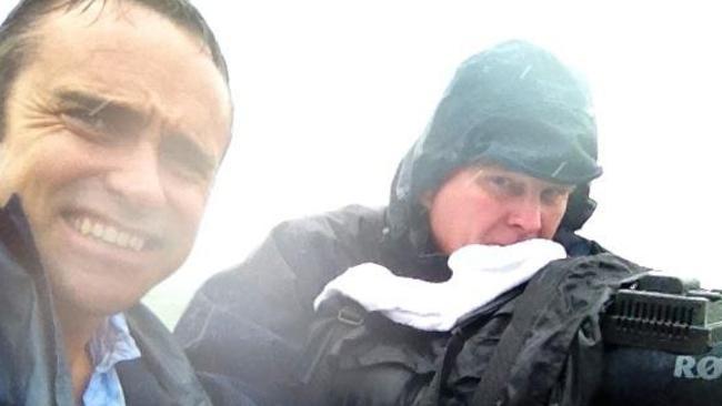 A Current Affair journalist Ben McCormack (left). Source: Facebook.