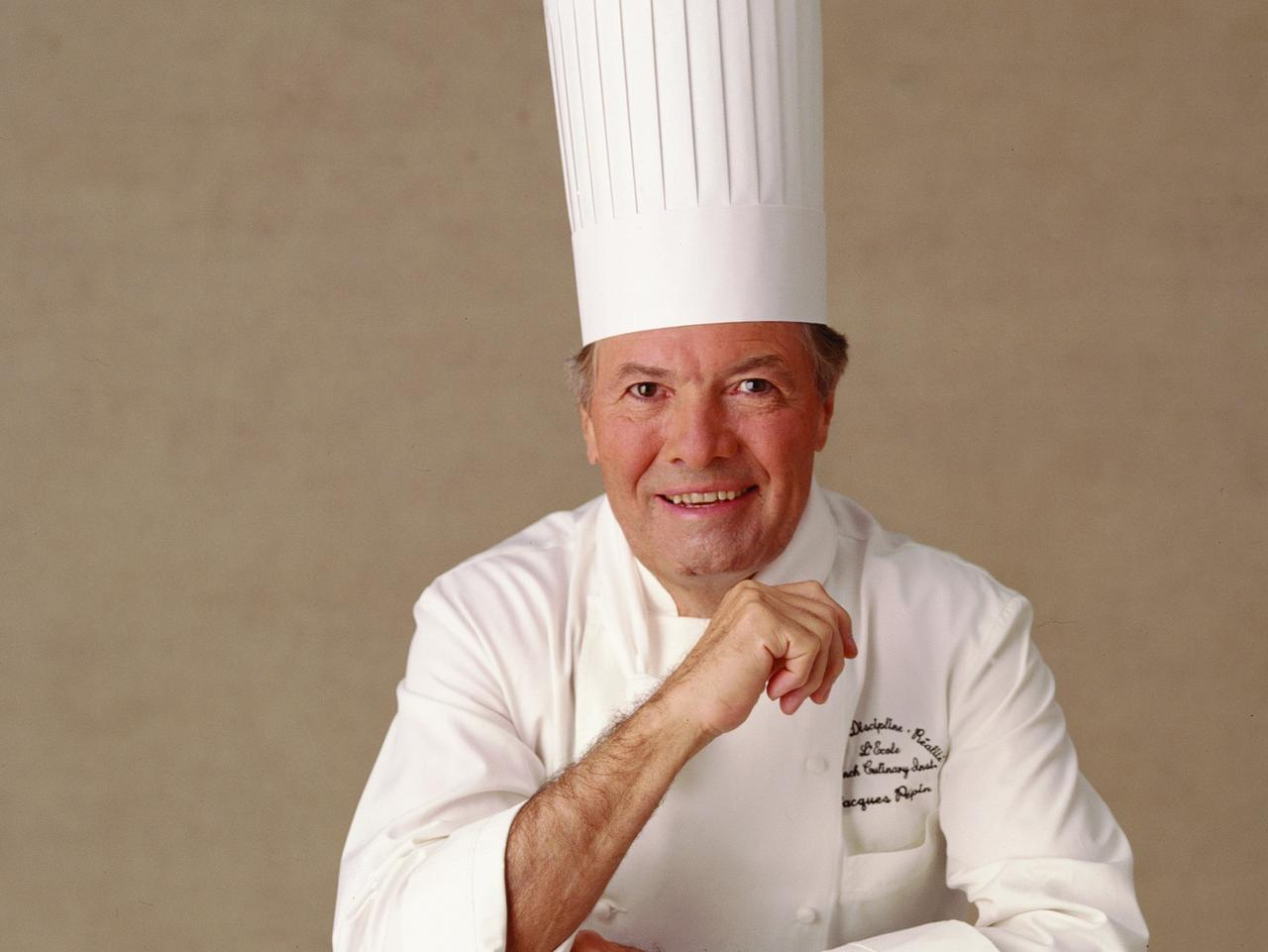 ESCAPE: Celebrity chefs on cruises. Chef Jacques Pepin onboard Oceania Cruises. Picture: Supplied