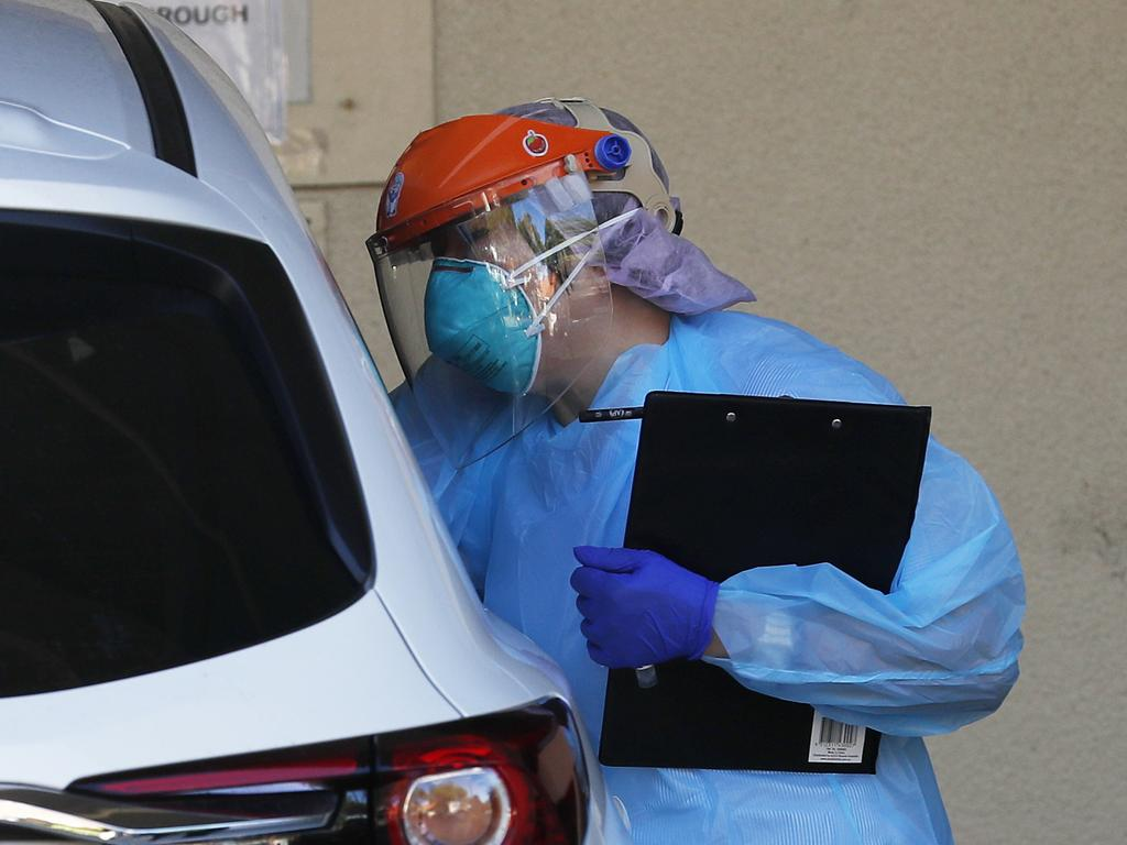 Authorities remain vigilant about potential outbreaks. Picture: NCA NewsWire / Nikki Short