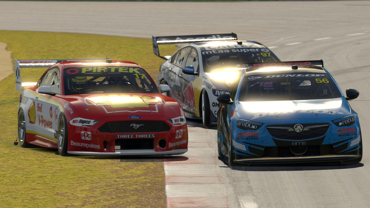 Late drama involving Scott McLaughlin stole the show in Wednesday night's Supercars Eseries.