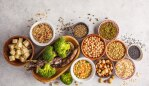 These legumes and veggies are great for plant-based protein punches. Image: iStock.