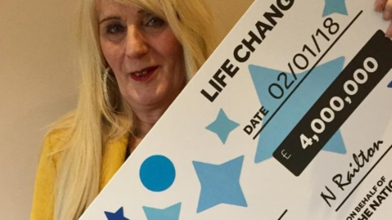 The National Lottery winner Melissa Ede, pictured in 2018. Picture: Twitter/@TNLUK