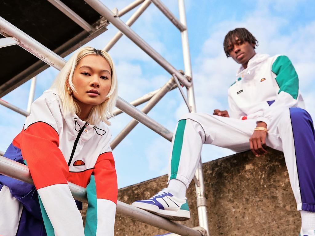 From stylish streetwear to functional sportswear, Ellesse is a must-shop. Image: Ellesse.