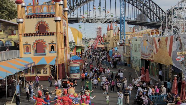 The attraction was due to undergo a $20 million transformation. Picture: SHFG