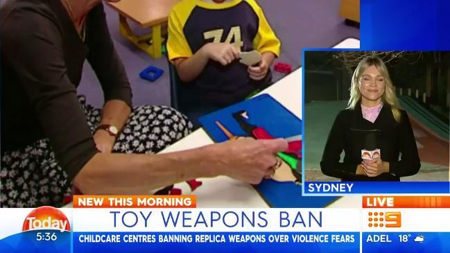 Toy Gun ban - The Today Show