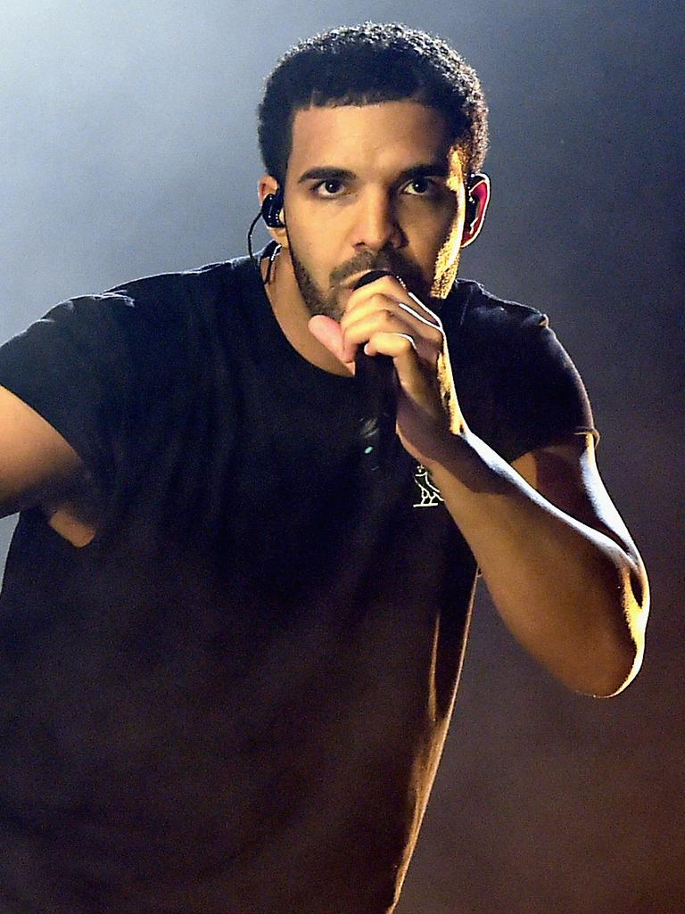 Fans got Drake … Picture: Getty